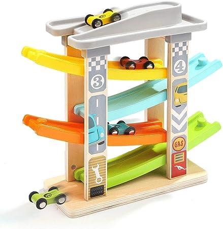 ZaiQu Juguetes para niños Juegos de Mesa Educación temprana Puzzle Niño Niña 2-3 años Juguete Coche Inteligencia Desarrollo Planeador Racing Juguete (Tamaño : A): Amazon.es: Hogar