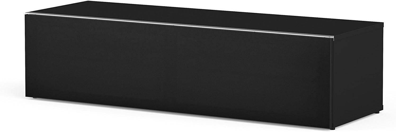 Meliconi Tv Meubel.Meliconi Tv Meubel Hout Zwart 45 X 132 X 15 Cm Amazon Nl