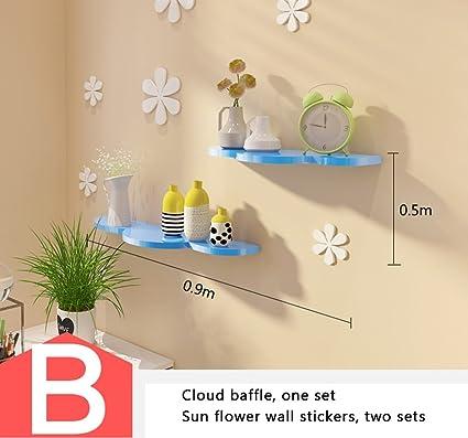 ALUK- Mensole creative a parete, divisori, decorazioni per muri per ...