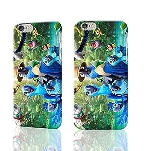 rio-2 Custom Diy Unique Image Durable 3D Case Iphone 6 Plus - 5.5