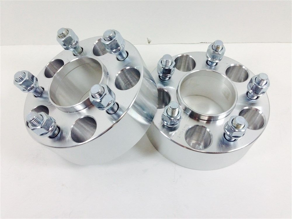 4pcs 3 Inch Hubcentric Wheel Spacers 5X114.3 5X4.5 | 1/2 RH Thread | 75mm Thick