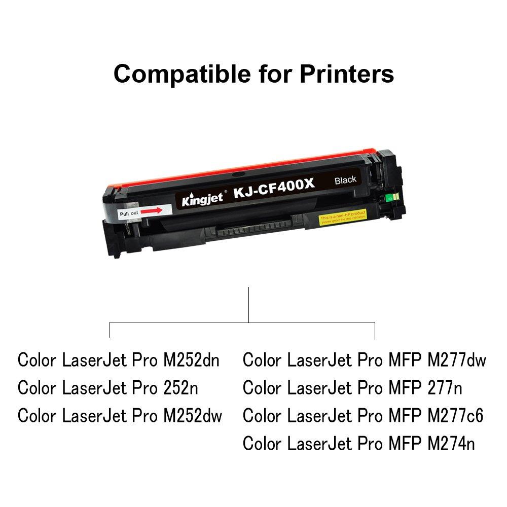 Kingjet - Cartucho de tóner Compatible para Impresora multifunción ...