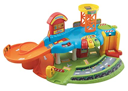 V Tech Garage : Amazon vtech toot toot drivers garage educational toy playset