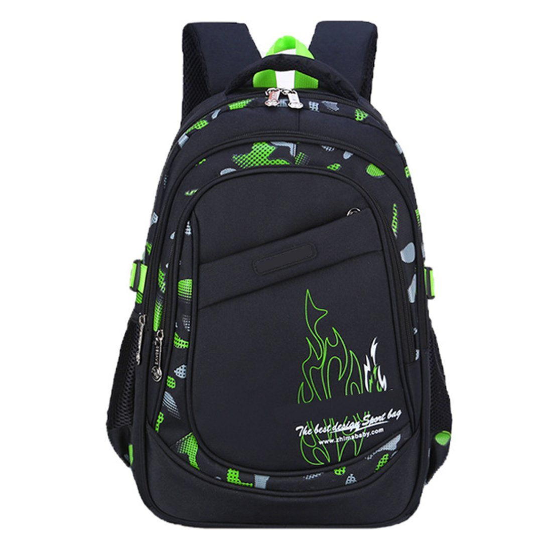 ea04060ff714 Amazon.com   AnKoee Boys School Backpack Heavy Duty Bookbag Rucksack ...