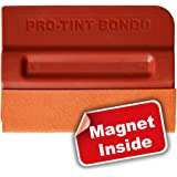Ehdis Car Magnet Squeegee Scratchless Soft Felt Edge Magnetic Decal Vinyl Wrap Stick on Car Firm for Decal Vinyl Wrap Applicator Tool PRO-TINT BONDO