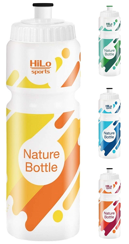 BPA frei 750 ml Rohstoff Zuckerrohr HiLo sports Fahrrad Trinkflasche