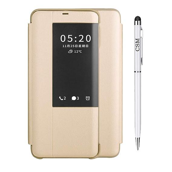 new concept d07f0 4cf29 Amazon.com: Huawei Mate 20 Lite Smart Case, Luxury Case Smart Clear ...