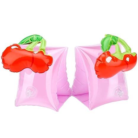 Eidyer Brazaletes inflables, anillo de brazo de natación, paquete de 2, flotadores inflables