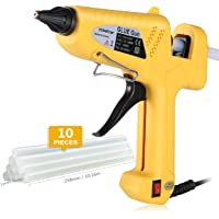 CCbetter 100W Hot Melt Glue Gun with 10Pcs. Glue Sticks