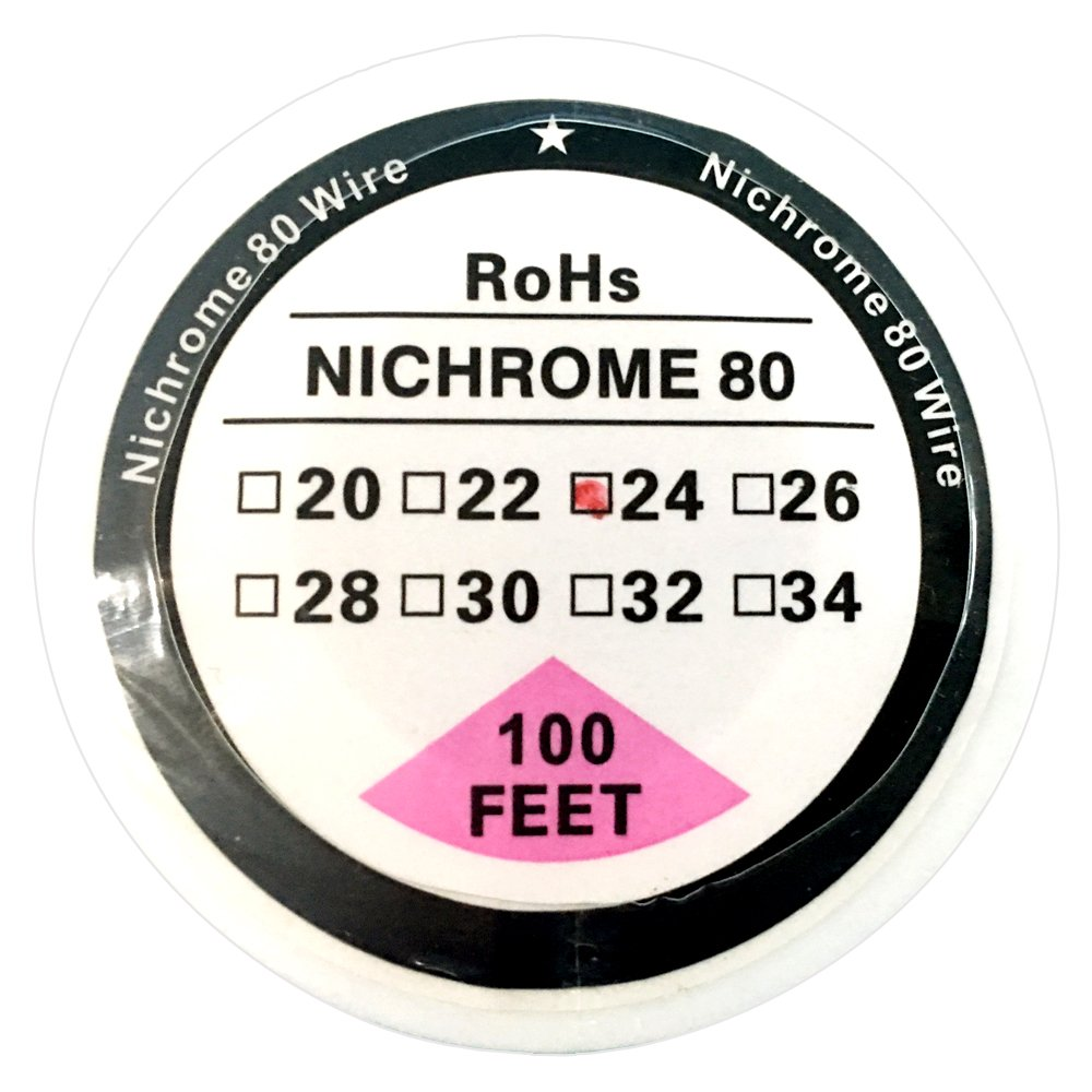 26G Spool 22-32G AWG Nichrome 80 Wire Resistance Wire 100ft 30m