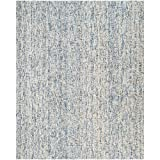 Safavieh Abstract Collection ABT468C Contemporary Handmade Dark Blue and Rust Premium Wool Area Rug (8′ x 10′) Review