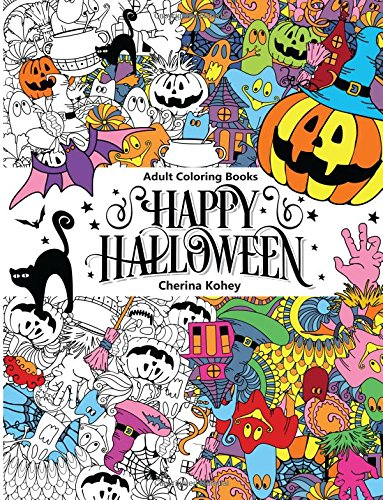 Adult Coloring Book: Happy Halloween