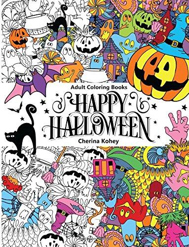 Adult Coloring Book: Happy Halloween