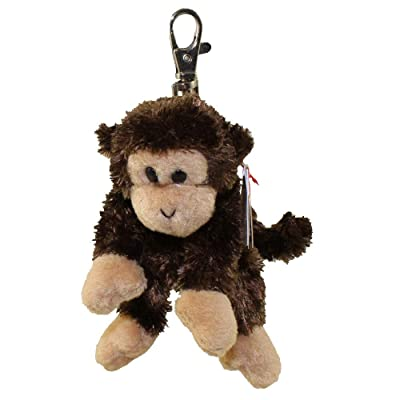 TY Beanie Baby - SWINGER the Monkey (Key clip): Toys & Games