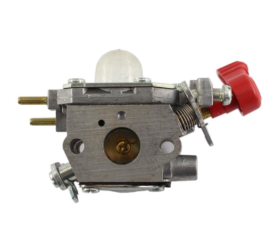 Carburetor Craftsman Troybilt TB2044XP MS2550 MS2560 TB2040XP Yard Machine Trimmer 27cc MTD 753-06288 Cadet Zama C1U-P27 Carb by MOTOKU