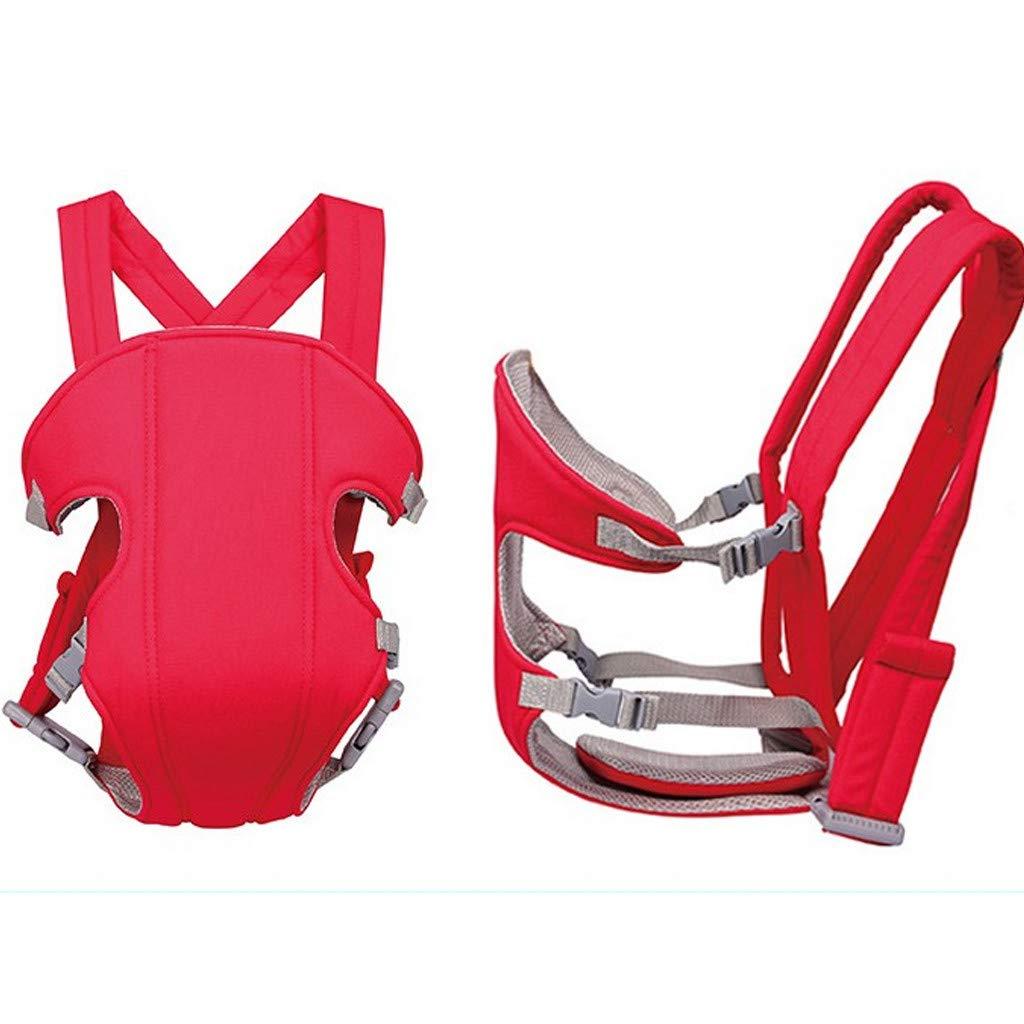 Portabeb/é Asiento de Cadera Cintura de Taburete 3 en 1 Multifunci/ón Hipseat Seguro Mochila Portabeb/é Adjustable para 0-9 Meses 9KG Ni/ños beb/é Armada talla /única
