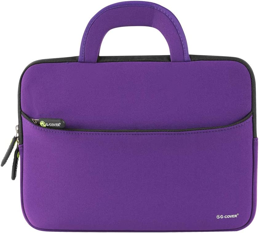11.6 inch Laptop Case Laptop Sleeve Bag Lightweigh Slim Computer Carrying Case Compatible for Notebook and Computer Protective Case (Purple)