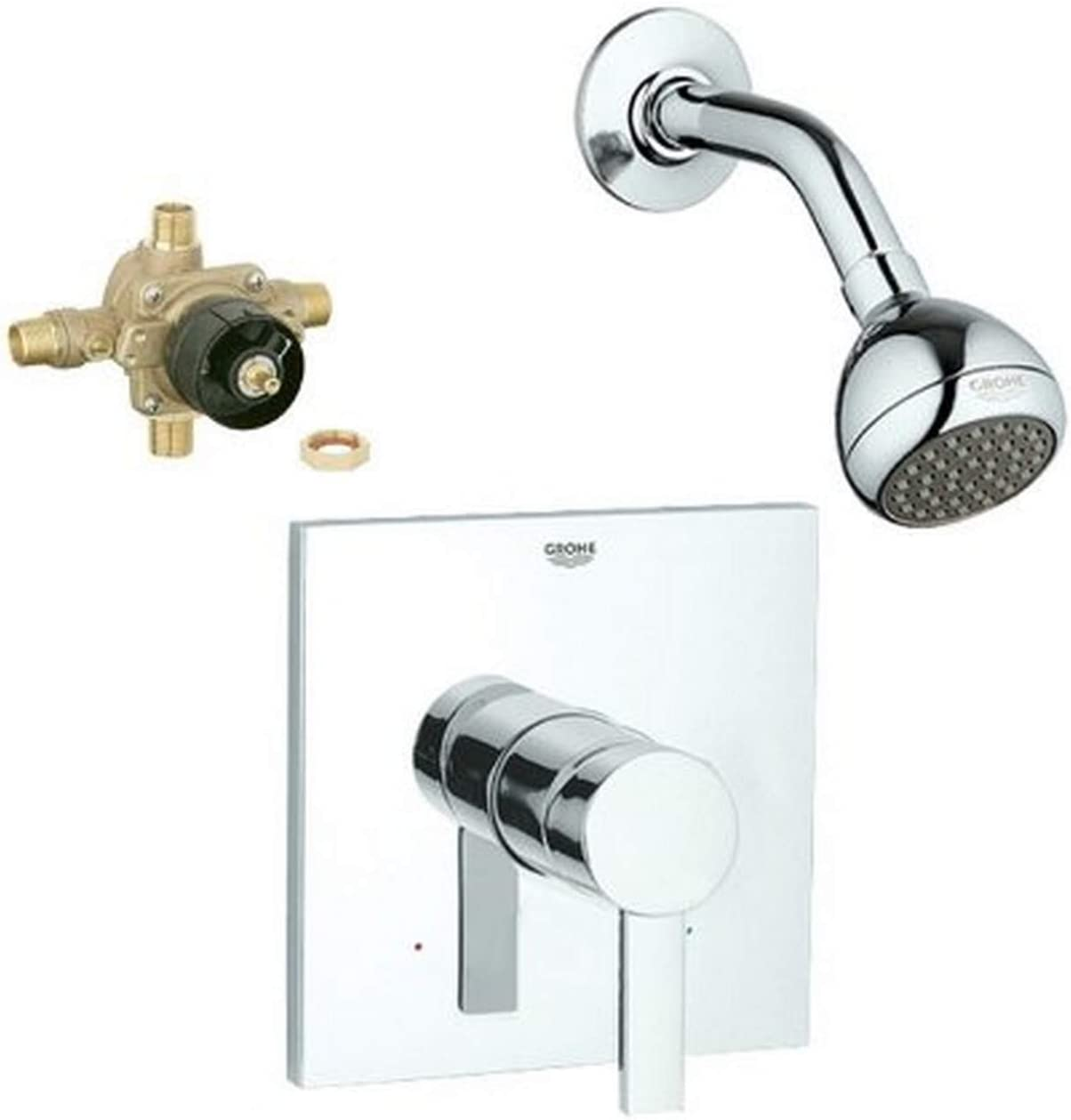 Chrome Grohe KS19375-35015R-000 Allure Shower Valve Kit