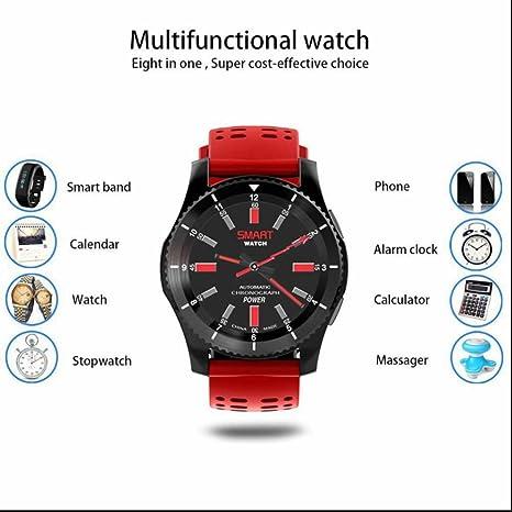 Smartwatch Relojes Deportivo con Notificación de WhatsApp Monitor ...