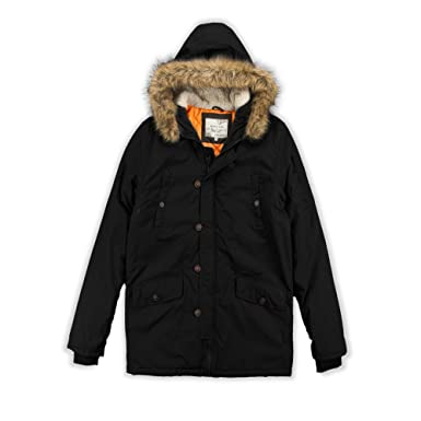 812e6d3ac51f Boys Brave Soul  Noel  Parka Waterproof Hooded School Jacket Coat Kids  Jacket  Amazon.co.uk  Clothing