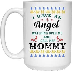 Amazon.com: Christmas Gift Ceramic Mug I have an Angel