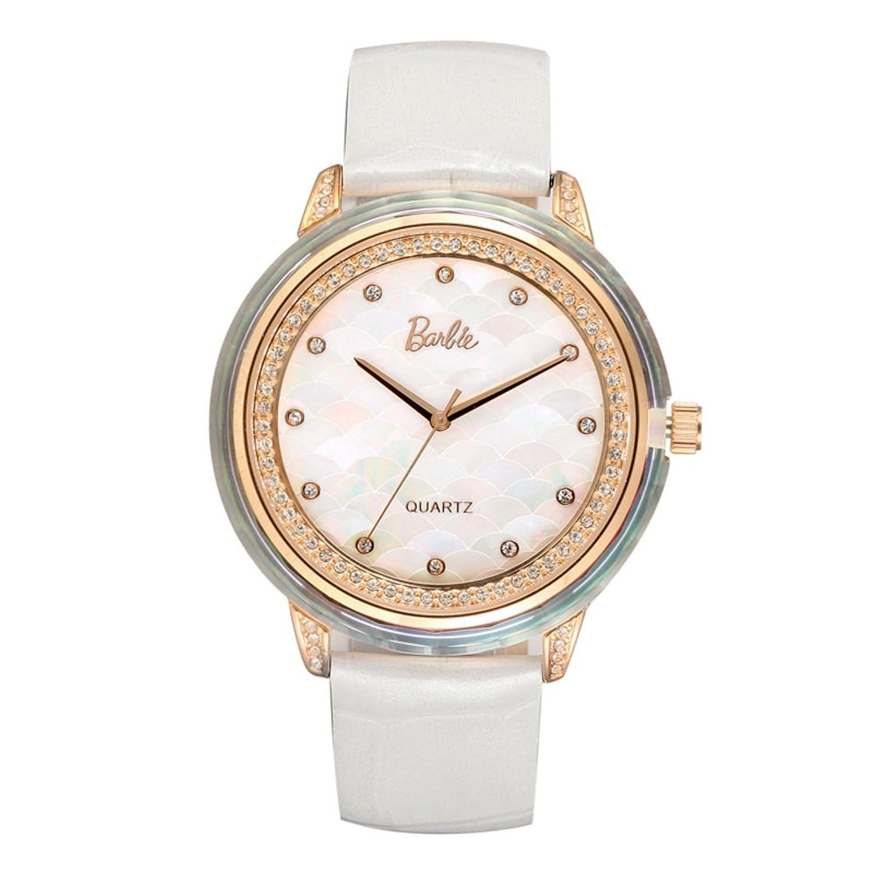 Personalisierte Strass Uhr-Weibliche Art und Weise beilÄufige Quarzuhr-Uhr-A