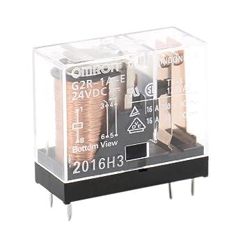 Heschen Relé electromagnético G2R-1A-E 24VDC SPST-NO 16A / 250VAC Montaje