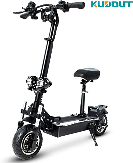 Amazon.com: KUDOUT Electric Scooters, Adult 2400W Motor Max ...