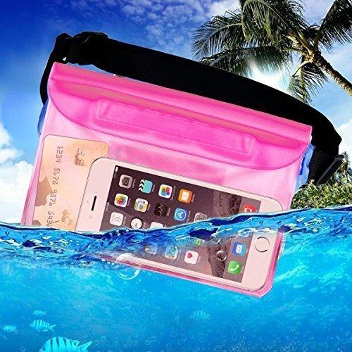 Waterproof Pouch,TBBSC Waterproof Bag with Wais...