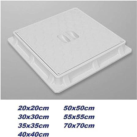 20x20cm Tapa Para Arqueta Desagüe Cubierta Adequa Cisterna Tapas Arquetas Tapadera plastico composite PP: Amazon.es: Hogar