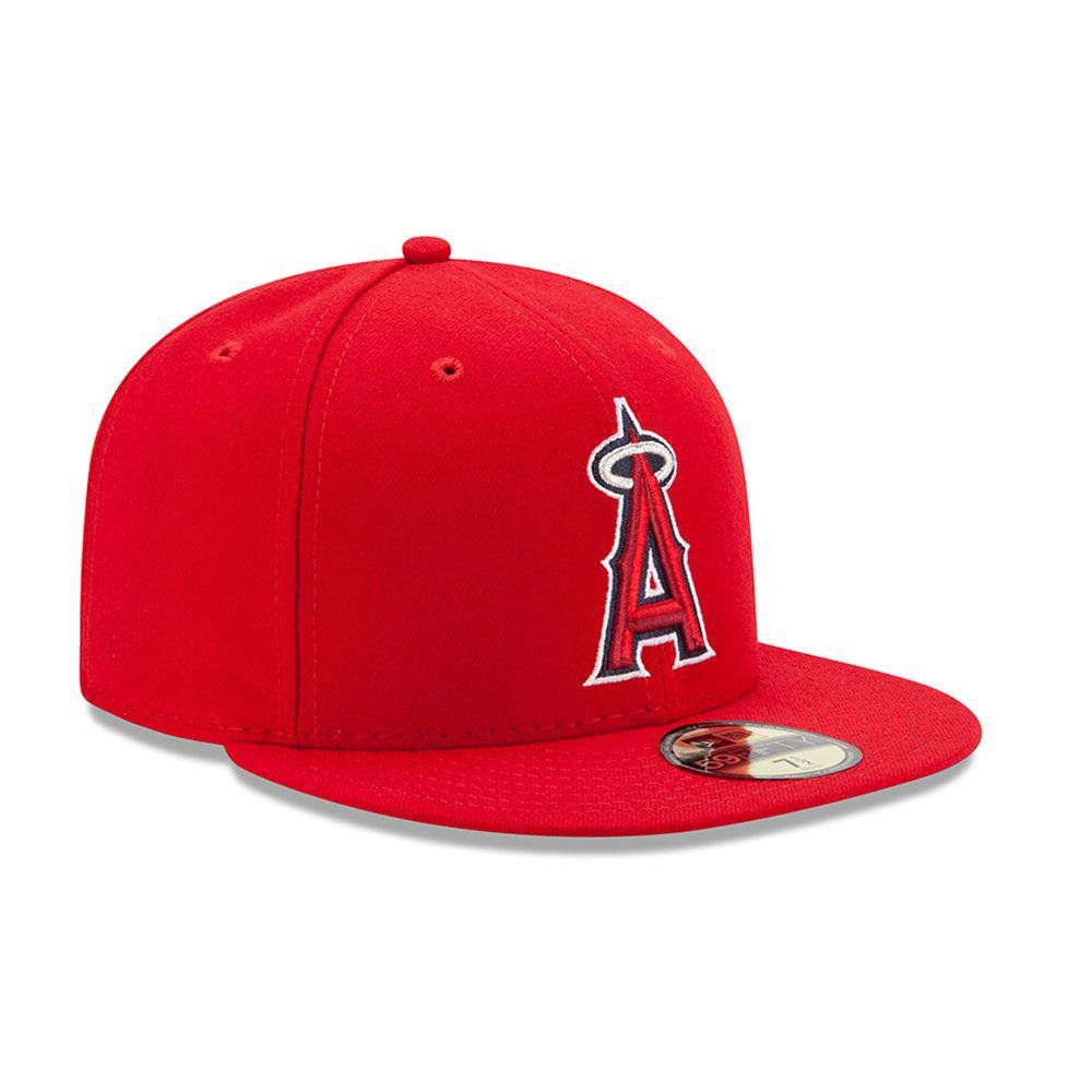 sale retailer 4c5fb cc987 New Era Los Angeles Angels Authentic 59FIFTY Fitted MLB Cap Game   Amazon.co.uk  Sports   Outdoors