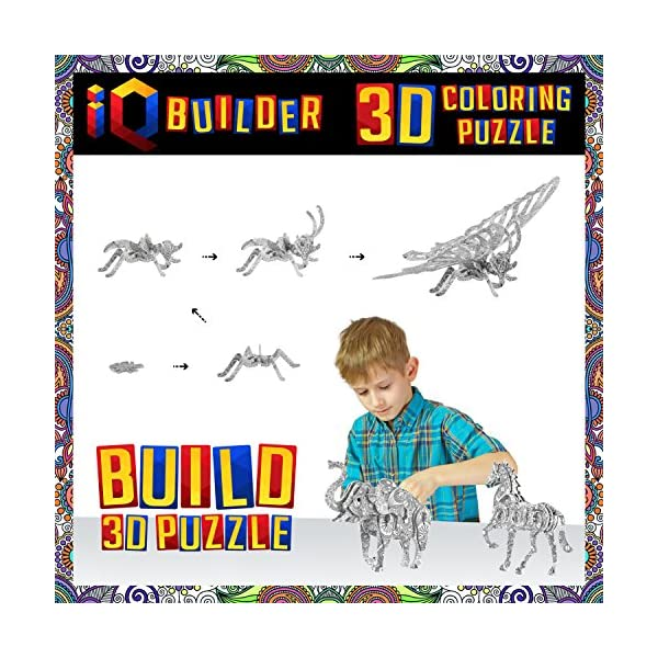 Iq Builder Arts And Crafts For Girls Age 7 8 9 10 11 12 Year