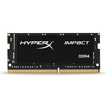 HyperX Kingston Technology Impact 16GB 2400MHz DDR4 CL14 260-Pin SODIMM Laptop Memory Memory at amazon