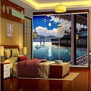 300cmX250cm Fond d\'humidité chambre salle de bains Papier peint ...
