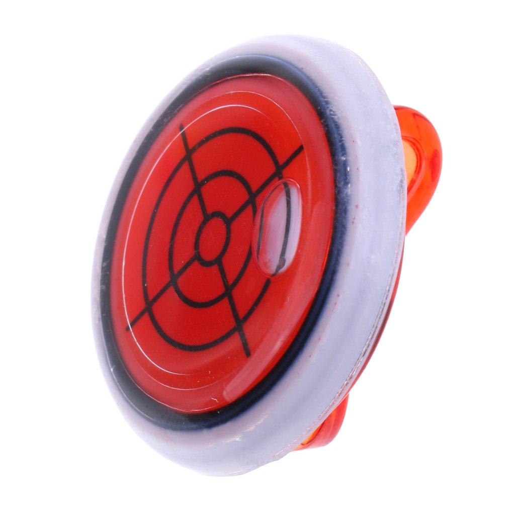 monkeyjack機能レベルゲージMagneticキャップ帽子バイザークリップゴルフボールマーカーゴルファーギフトパープルレッドロイヤルブルー  レッド B078M6FNSB