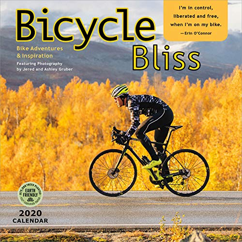 Bicycle Bliss 2020 Wall Calendar: Bike Adventures and - Amber Bicycle