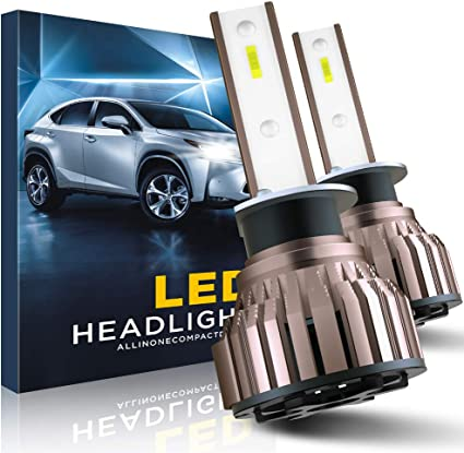 EASY EAGLE H1 LED Headlight Bulbs 10800LM 6000K