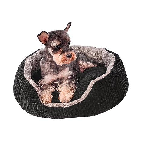 ANLEI Caseta para Mascotas Pad Mascotas Cama doméstica Animales requisitos Cómodo y Transpirable para Las Cuatro