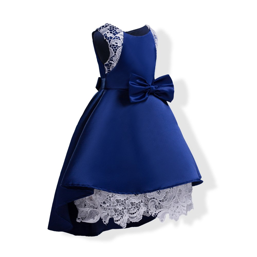 Amazon.com: LOSORN ZPY Baby Girls Princess Wedding Dress Toddler Bowknot Floral Party Sundress: Clothing