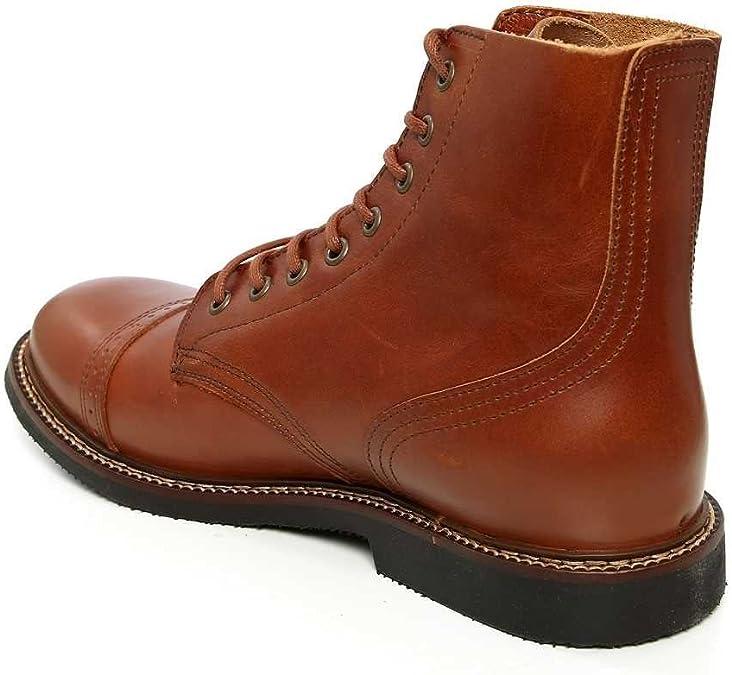 Pike Brothers - Botas de Piel para Hombre marrón marrón, Color ...