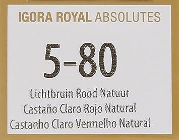 Schwarzkopf Igora Royal Absolutes Tinte Capilar 5 80-60 gr