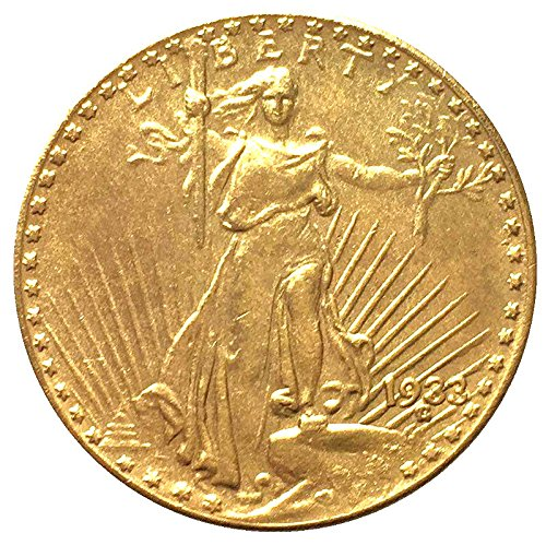 Coin USA 1933 - $20 Dollar Double Eagle - Saint Gaudens - (Numismatics Gold Coins)