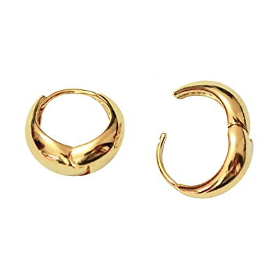 742c0ddf0 Chandrika Pearls Gems & Jewellers Salman Khan golden colour mettalic hoop  Earring for boys and men: Amazon.in: Jewellery