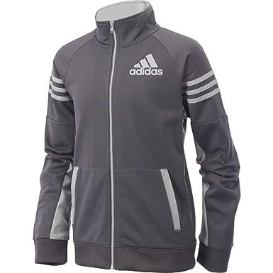 65d10e633889 adidas Boys 8-20 League Track Jacket  Amazon.co.uk  Clothing