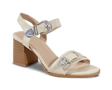 By Shoes FemmeChaussures Talon À Sandale Style Bohème rCBQodxeWE