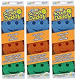 Scrub Daddy - Sponge/Scrubber Colors - 3 Pack, 9 Total