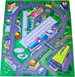 Airport Felt Play Mat with Roads and Train - Best Reviews Guide
