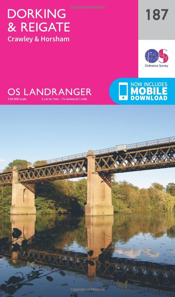 Download Dorking, Reigate & Crawley (OS Landranger Map) pdf