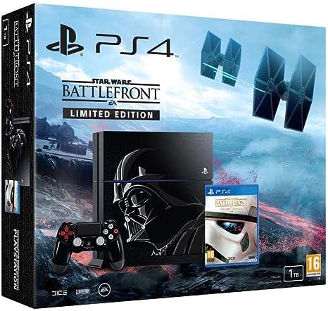 Sony Star Wars Battlefront Limited Edition PS4 bundle Negro 1000 GB Wifi - Videoconsolas (PlayStation 4, Negro, 8192 MB, GDDR5, AMD Jaguar, AMD Radeon): Amazon.es: Videojuegos