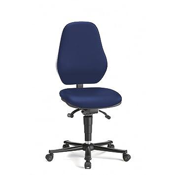 BASIC Arbeitsdrehstuhl, ESD, Stoff, Bezug blau - Stühle Drehstühle ...